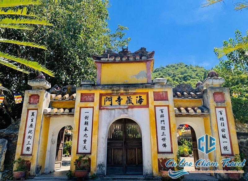 chùa hải tạng cù lao chàm