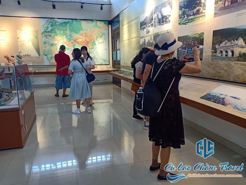 khu trưng bày hiện vật cổ