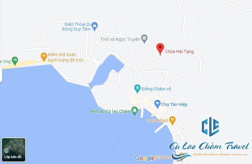vị trí chùa hải tạng