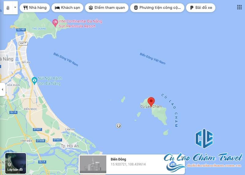 cù lao chàm có bao nhiêu hòn đảo